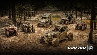 10. 2018 Can-Am X mr Lineup