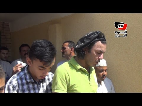 تشييع جنازة والدة الفنان علاء مرسي