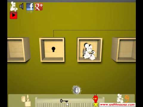 Sniffmouse Real World Escape 61 Funny Aliens Walkthrough