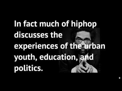 Media Presentation-The Effect of HipHop on Urban Education