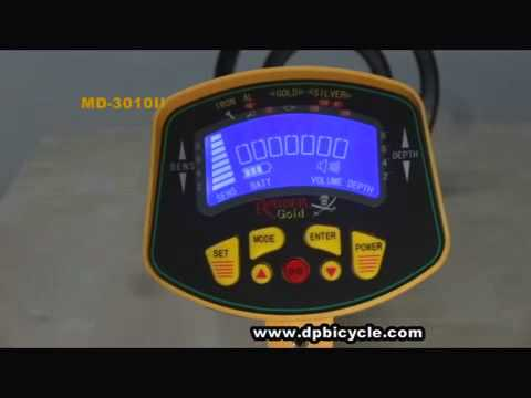 Underground Metal Detector MD-3010II by Double Plus Showcase