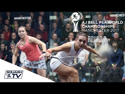 Squash: AJ Bell PSA World Championships 2017 - Women's Rd 2 Roundup Part 2