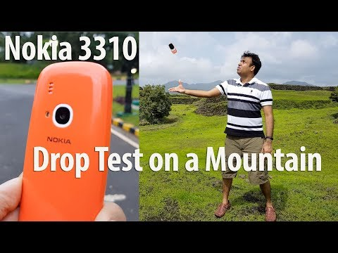 Nokia 3310 Drop Test On A Mountain Does It Survive? (видео)