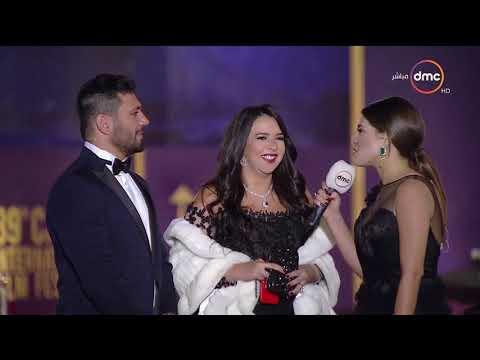 إيمي والرداد: سمير غانم جدير بتكريم القاهرة السينمائي