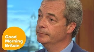 Nigel Farage Admits NHS Claims Were not true