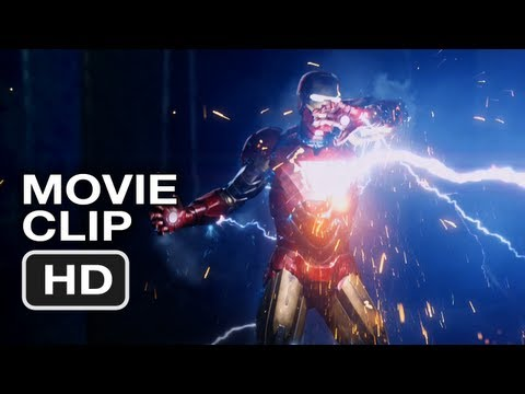 The Avengers Movie CLIP #5 - Iron Man vs Thor - Marvel Movie (2012) Video