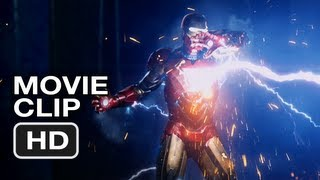 The Avengers - Iron Man Vs Thor (Movie Clip)