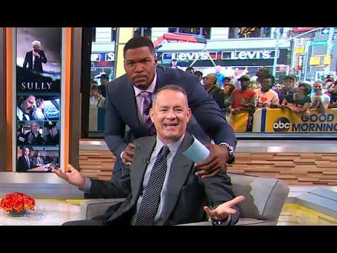 Tom Hanks Hilarious GMA Interview