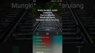 Video Via Vallen - Masih cinta -lirik MP3, 3GP, MP4, WEBM, AVI, FLV Juli 2018