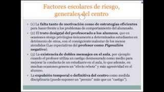 Umh0094 2013-14 Lec018  Unidad 5. Desarrollo Problemas Conducta. Parte 4