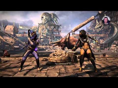 Kandarr (Mournful Kitana) vs HoneyBee (Swarm Queen D'Vorah) (видео)