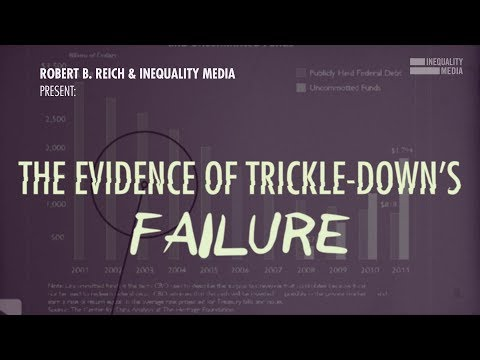 Robert reich why the republican tax plan is more failed trickle down economics fandeluxe Gallery