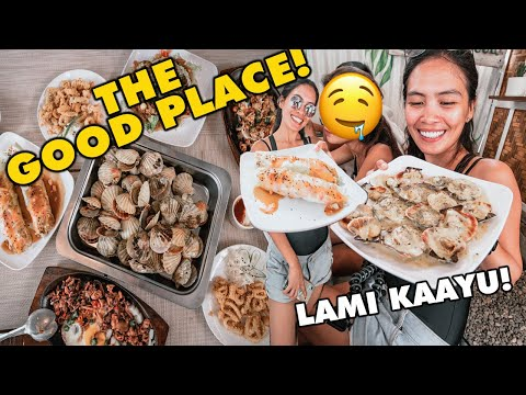 THE GOOD PLACE---BEST SEAFOOD Restaurant in Moalboal, Cebu, Philippines | Day See