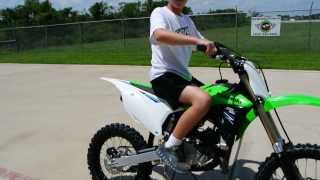 8. $4,599 The New 2014 Kawasaki KX100 with 20% More Power!