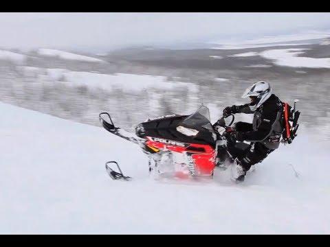 2013 Polaris 800 RMK Snowmobile Review