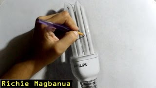 Drawing Realistic Light Bulb | TCA