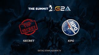Secret Team Vs Kompas Gaming, The Summit 2, Day 15 Game 5