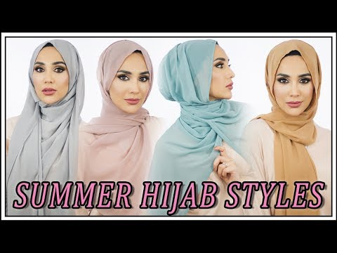 12 Easy Summer Hijab Styles | Amena