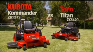 10. Kubota Kommander Zero Turn Mower Advantage Video 1