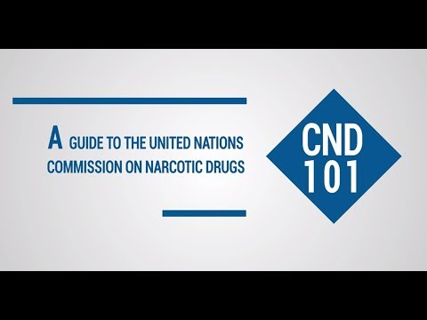 CND 101: A guide to the United Nations Commission on Narcotic Drugs