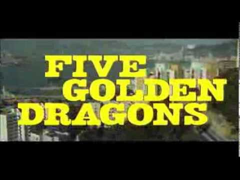 """Edgar Wallace Presents: Five Golden Dragons"": Out On DVD 10/03/2014"