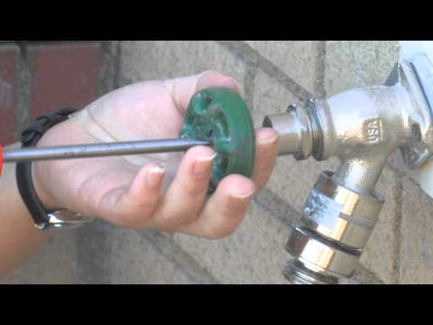 How to Fix a Leaky Outdoor Faucet