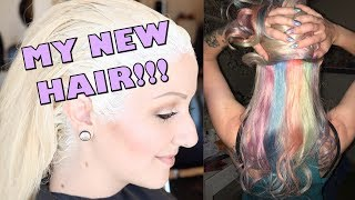 New hair, new me?! HAIR COLOR TRANSFORMATION by Coral Reefer