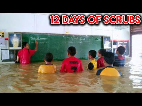 MY SCHOOL WAS INSANE...(12 Days of Scrubs #10)