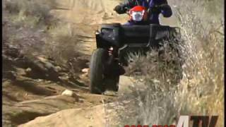 10. ATV Television Test - 2005 Polaris Sportsman 700