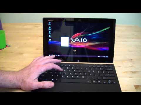 Sony Vaio Tap 11 Microsoft Tablet Review