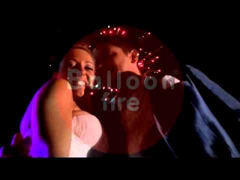 Πυροτεχνήματα στο τέλος του χορού Κτήμα Ελαιώνας