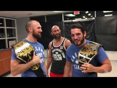 Johnny Gargano & Oney Lorcan want you to vote for #DIY in the NXT Year-End Awards
