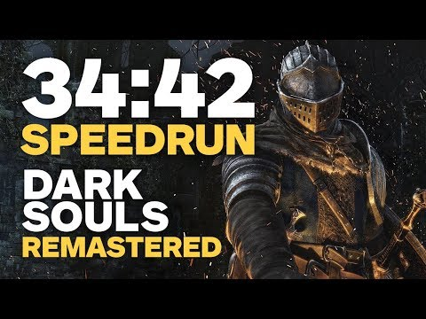 Dark Souls Remastered Finished In 34 Minutes - Speedrun