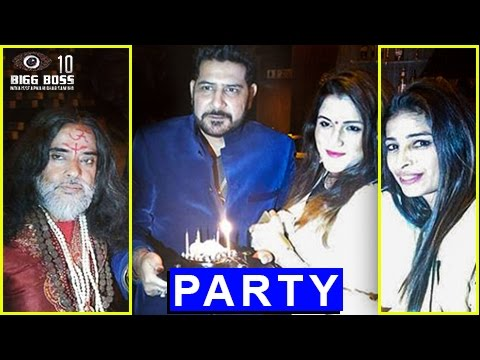 Swami Om & Priyanka Jagga PARTY TOGETHER | Bigg Bo