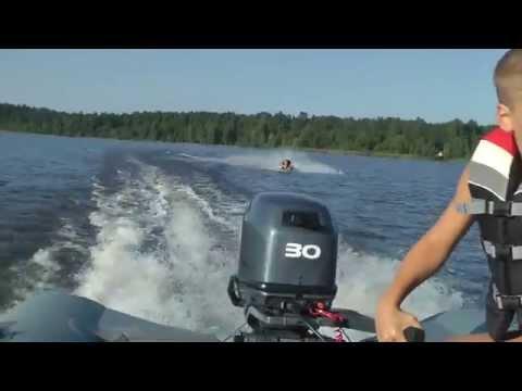 резиновая лодка для вейкборда