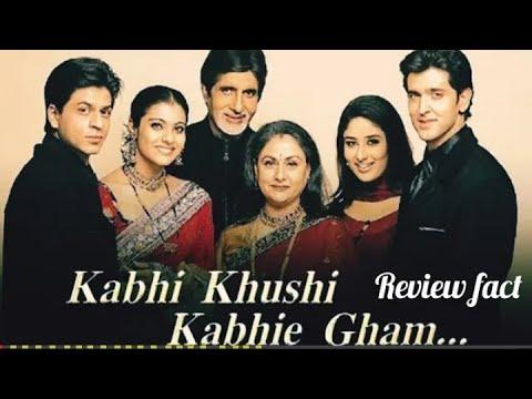 Kabhi Khushi Kabhi Gham Full Movie Review | Shahrukh Khan,Amitabh Bachchan,Kareena & Hrithik Roshan