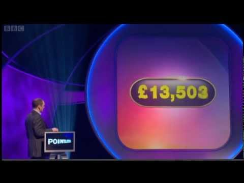 BBC Pointless Eastenders style!