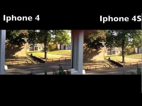 0 iPhone 4S vs iPhone 4 comparativa de video