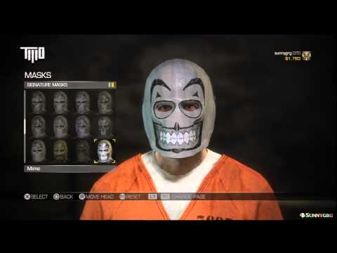 Army of Two: The Devil's Cartel - All Signature Masks (Complete List)
