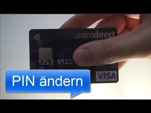 PIN ändern | Comdirect Visa Card
