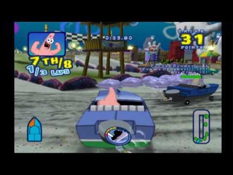 spongebob boating bash wii cheat codes