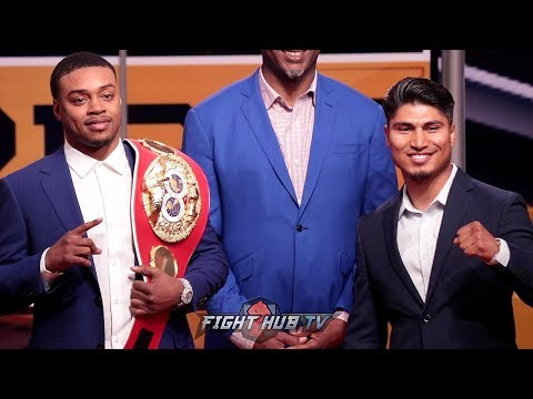 ERROL SPENCE JR. VS. MIKEY GARCIA- FOX PRESS CONFERENCE ANNOUNCEMENT & PRESS CONFERENCE
