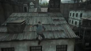 Uncharted 4 Prison Escape Scene