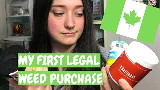 My First Legal Weed Haul in Canada by Chronic Crafter