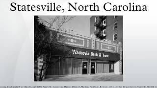 Statesville (NC) United States  city photo : Statesville, North Carolina
