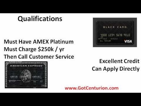 American Express Black Card vs Visa Black Card