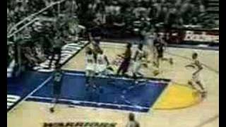 Charles Barkley vs. Warriors 1994 Playoffs Game 3