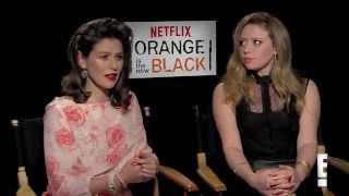 Yael Stone and Natasha Lyonne on OITNB Season 2 Sex Contest