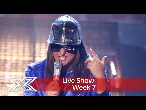 Honey G mashes it up for Movies Week! | Live Shows Week 7 | The X Factor UK 2016