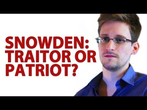 Edward Snowden: Traitor Or Patriot? (видео)